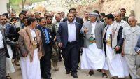 القيادي في مليشيا الانقلاب أبو علي الحاكم يظهر رفقة الصماد في إب ( صور )