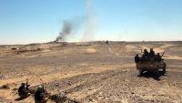 الجيش الوطني يعلن تحريره مواقع جديدة شمال معسكر خالد