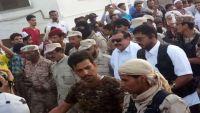 حراسة أمن حضرموت تطلق النار على جنود شماليين بعد رفض السلطات صرف رواتبهم