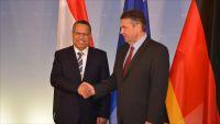 بن دغر يلتقي وزير الخارجية الألماني وبرلين تدعو لحل ينهي معاناة اليمن