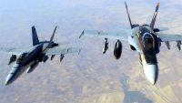 ذمار.. غارات جوية لطائرات التحالف على مواقع عسكرية للحوثيين في ضوران آنس