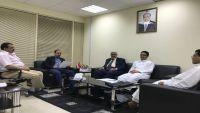 وزير الإعلام يناقش استكمال إجراءات مشروع مؤسسة الاتحاد الإعلامية