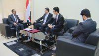 الإرياني يبحث مع السفير الصيني توقيع مذكرة للتعاون الإعلامي بين البلدين