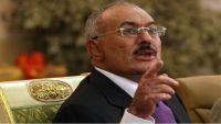 المخلوع صالح يهاجم الإصلاح وهادي ويدافع عن الحوثيين