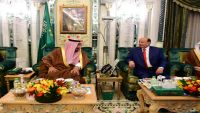 الملك سلمان يستقبل الرئيس هادي في مكة ويناقشان تعزيز التعاون بين البلدين