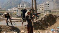 تعز .. استشهاد اثنين مواطنين إثر استهداف الحوثيين لسيارة نقل مسافرين في خط الضباب