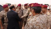 الفريق محسن يصل مأرب ويؤكد على أولوية الشرعية في إنهاء الانقلاب ومحاربة الإرهاب