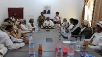 محافظ صنعاء: لا تراجع حتى عودة الشرعية وإنهاء الانقلاب