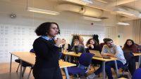 الصحفية أفراح ناصر تحصل على جائزة حرية الصحافة الدولية