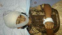 تعز.. استشهاد طفلة وإصابة خمسة مدنيين جراء قصف المليشيا الأحياء السكنية