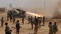 مواجهات عنيفة غربي تعز والتحالف يستهدف مواقع المليشيا بمعسكر خالد