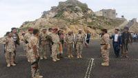 العميد سرحان يفتتح مركز تدريب عسكري للجنود المنضمين من أفراد المقاومة الشعبية