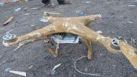 الجيش الوطني يسقط طائرة استطلاعية للحوثيين بصرواح (صورة)