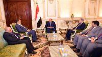 الرئيس هادي يلتقي ولد الشيخ لمناقشة فرص استئناف المفاوضات