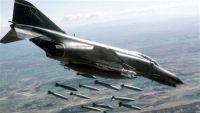 طائرات التحالف العربي تقصف مواقع عسكرية في صنعاء