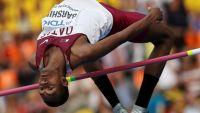 برشم يمنح قطر ذهبية القفز العالي ببطولة العالم
