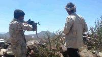 الضالع.. قتلى وجرحى حوثيون واستشهاد جندي في مواجهات بجبهة مريس