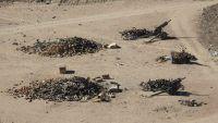 مأرب.. معارك في صرواح ومدفعية الجيش تستهدف مواقع المليشيا بعدة قذائف