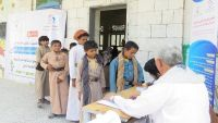 إعادة تأهيل 40 طفلا دون سن الـ 15 من مجندي الحوثيين إلى مقاعد الدراسة بمأرب (صور)