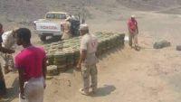 الجيش الوطني يتلف ألغاما ومتفجرات زرعتها المليشيا غربي تعز