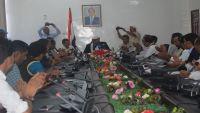 العرادة يلتقي الإعلاميين والصحفيين بمأربلمناقشة ترتيب فعاليات ثورة 26 سبتمبر