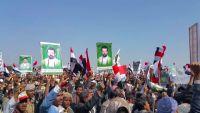 احتفال السبعين.. رسالة الحوثيين السلالية تحت أعلام الجمهورية وأرض ملحمتها التاريخية (صور)