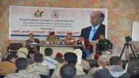 """محور تعز يقيم ندوة """"الجيش الوطني.. الواقع والطموح والدور المجتمعي"""""""