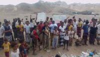 مسيرة احتجاجية لمواطني ذباب تطالب الإمارات السماح لهم بالعودة لمنازلهم (صور)