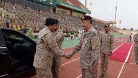 قائد التحالف العربي يبحث مع مسؤول عسكري أمريكي آفاق التعاون
