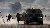 قوات عراقية تتقدم بكركوك والكرد يدمرون آليات للحشد الشعبي