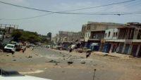 أبين.. مقتل جندي وإصابة خمسة آخرين إثر  انفجار عبوة ناسفة في مودية