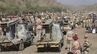 عروض عسكرية ضخمة لمليشيات الحوثي في المنطقة العسكرية الرابعة (صور)