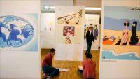 فنانو الكاريكاتير العرب وهمومهم في مهرجان ببلجيكا