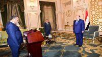 ثلاثة قضاة يؤدون اليمين الدستورية أمام الرئيس هادي