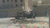 مقتل ثلاثة جنود وإصابة آخرين بانفجار عبوة ناسفة استهدفت طقما عسكريا بحضرموت