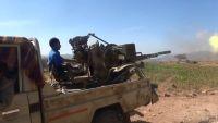 الضالع.. الجيش يحرق عربة للمليشيا بمريس والأخيرة تقصف قرية سون