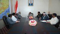 نائب الرئيس يؤكد على دور السلطة المحلية بصنعاء في تحرير المحافظة