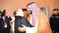 ابن سلمان يبحث مع الرئيس هادي مستجدات الأوضاع في اليمن