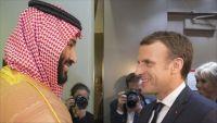 الرئيس الفرنسي بحث في الرياض قضايا اليمن ولبنان