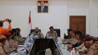 اجتماع مشترك لقيادات في الجيش مع التحالف العربي بعدن لوضع خطة أمنية مشتركة