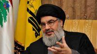 حسن نصر الله ينفي ارسال حزبه أسلحة إلى اليمن