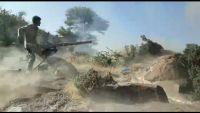 مواجهات عنيفة بين مليشيا الحوثي وقوات الجيش الوطني بجبهة مريس