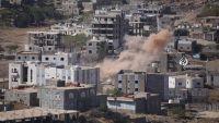المليشيا تكثف من قصفها الاحياء السكنية غرب مدينة تعز