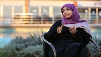 توكل كرمان تطالب بإيجاد حل يمني لوقف الحرب والإنقلاب وتدعو هادي لفتح المفاوضات مع جميع الأحزاب (حوار)