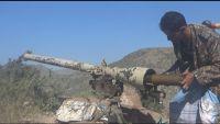 الضالع.. مصرع مسلح حوثي في تصدي الجيش محاولة تسلل بجبهة حمك