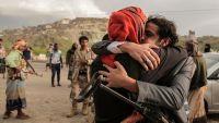 نجاح تبادل أسرى بين المقاومة الشعبية ومليشيا الحوثي في تعز