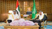 """العاهل السعودي ومحمد بن زايد يبحثان جهود """"دحر"""" الحوثيين في اليمن"""