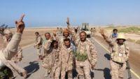 الجيش الوطني يستكمل السيطرة على بيحان ويصل أولى مناطق البيضاء