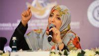 توكل كرمان: مالم يعترف حزب المؤتمر في صنعاء بالشرعية فهو شريك للانقلاب