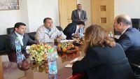 نائب المبعوث الأممي يلتقي قيادات في حكومة الحوثيين